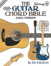 GUITAR CHORD BIBLE - 3,024 CHORDS (NEW 2016 EDITION)