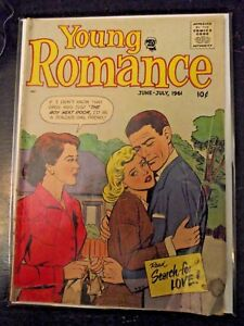 Young Romance vol. 14 #4 (112) June 1961 Prize Group GD