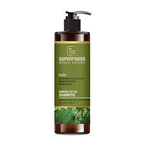 Be.Care.Love Kale Damage Detox Shampoo 12 oz / 355 ml Hempz Seed Oil Quinoa