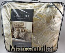 Croscill Home Alexander King Comforter & Shams Set Tan