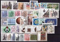 Bund Jahrgang 1988 - Auswahl aus Michel Nr. 1347 - 1396  , ** , postfrisch