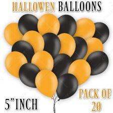 12.7cm 10X-20X Helio Látex Baloon Halloween Globos Calidad Truco o Trato