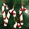 20pcs Christmas Candy Cane Ornaments Decor Party Xmas Tree Hanging Decoration