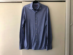 Ralph Lauren Purple Label Men's Made in Italy Tailored Fit Dress Shirt Size 16