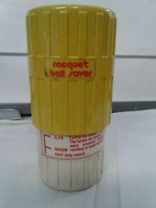Vintage GEXCO RACQUET BALL SAVER made in USA Huntington beach, CA 2balls US PAT