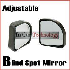 2x regolare Cieco Spot Specchio traino retromarcia Driving Adesivo Auto Furgone Bici