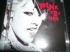 Pink Try This CD Feat Trouble God Is A DJ & Feel Good Time) – Like New