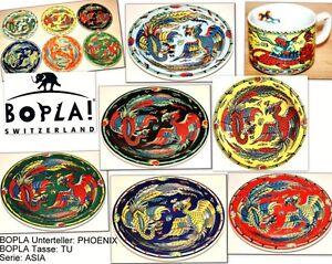 PHOENIX BOPLA Porzellan Unterteller 16cm für Kaffeetasse Teetasse Mug Haferl