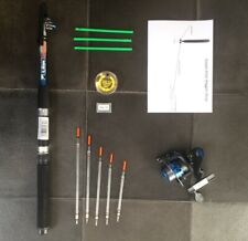Telescopic Travel/starter kit ,6 ft Rod & Reel Complete Set for Coarse Fishing
