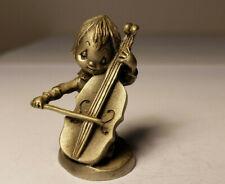 Vintage Hallmark Hudson Betsey Clark Pewter Figurine Girl with Violin