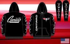 Size 2XL Camaro Racing Printed Logo Hoodie Zipper  Cotton JH Design XXL