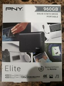 PNY Elite 960 GB External 1.4 inch (PSD1CS1050960RB) Solid State Drive