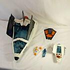 1989 GI JOE - CRUSADER Space Shuttle w Avenger Scout Craft Payload Figure Hasbro