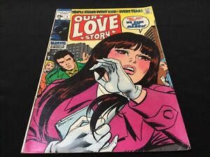 Our Love Story #1 ~ 1969 Silver Age Comic