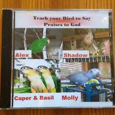 Teach your Bird/Parrot to talk Christian words CD
