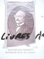 PHOTOGRAPHIE ORIGINALE 1880 ALFRED DES ESSARTS