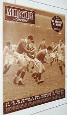 MIROIR SPRINT N°188 1950 RUGBY ECOSSE-FRANCE FOOTBALL LILLE BORDEAUX CYCLISME