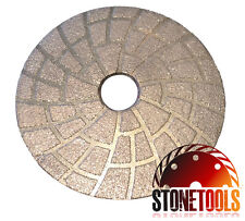 "4"" Brazed Lippage Removal Diamond Grinding Polishing Pad Disc"