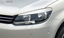 RDX Scheinwerferblenden VW Caddy / Touran Facelift 2011+ 1T GP2 Böser Blick