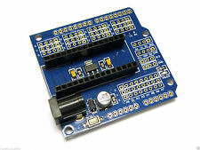Type A Nano I/O 9v 2.5mm Power Sensor Expansion Shield Board Arduino Nano