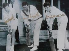 IAN & GREG CHAPPELL AUSTRALIA SIGNED IN PERSON PRINT CA COA cricket Australia