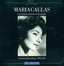 Maria Callas Voice en The Heart 1952-1961 CD E1602