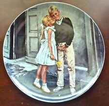 Bing & Grondahl - First Kiss - 1986 Collector Plate - Mint In Box