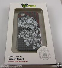 for Iphone 4 / 4S Mickey Mouse D-Tech phone case Disneyland Disney parks