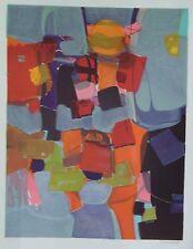 Denise Bourdouxhe lithographie La ville Flottante expressionnisme p 626