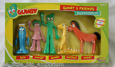 Gumby and Friends Bendable Boxed Set -  Licensed Product