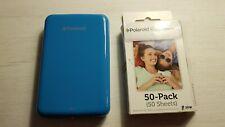 Mini impresora fotográfica portátil Polaroid ZIP- Azul