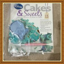 Disney Cakes & Sweets With Magazine!Can Choose One Of Them!BN