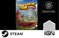 RollerCoaster Tycoon World [PC] Steam Download Key - FAST DELIVERY