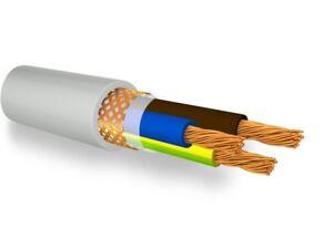 FRH2R/2 Cable Shielded Npi Flex Grey 3x2, 5 Mmq With G/V
