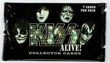 4 Kiss Alive! Collector Cards Packs