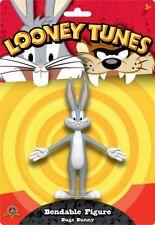 Looney Tunes figurine flexible Bugs Bunny 10 cm bendable figure 048013