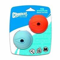 "Chuckit! WHISTLER BALL - MEDIUM 2.5"" (6cm) - 2pk Dog Toy"