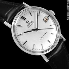 1961 OMEGA SEAMASTER Vintage Mens SS Steel Watch - Restored Mint with Warranty