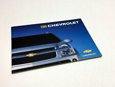 2006 Chevrolet Aveo Optra Epica Malibu Maxx Impala Monte Carlo Corvette Brochure