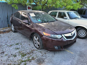 ✅2009-2014 Acura TSX Right Passenger Front Door Assembly Maroon OEM 09 10 11 14