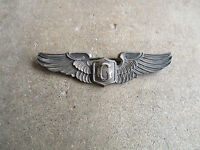 "WWII Glider Pilot Wings D-Day SPR 3"" sterling pin full size Airborne Infantry"