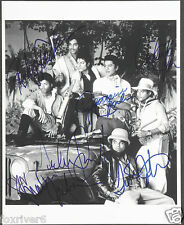THE JACKSONS Signed Photograph - Pop Singers / Band / Michael Jackson - preprint