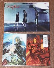 "Kalafina Postcards from ""Blaze"" single of The Heroic Legend of Arslan anime S2"