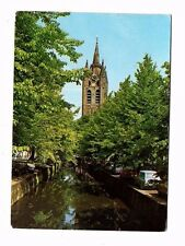 Netherlands - Delft, Oude Kerk vanaf de Oude Delft - Postcard Franked 1976