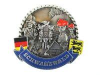 Schwarzwald Black Forest Metall Magnet Souvenir Deutschland Germany (22)