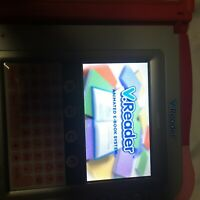 VTech VReader Learning System-Pink And One Game Tested And Fully Working/case