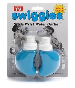 New Swiggies Wrist Water Bottles Kids & Adult 110z 8 oz Hydration Jogging Flask