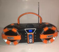 2011 Hot Wheels Boombox Cd-Player Fm Am Radio Hw-560 Mattel Works Great