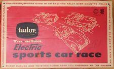 1959 Tudor Tru Action Electric Sports Car Race Game No. 530 With Original Box