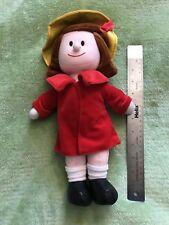 Madeline Yellow Hat Red Coat Plush Rag Doll Good Stuff